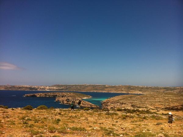 Ilha Comino em Malta