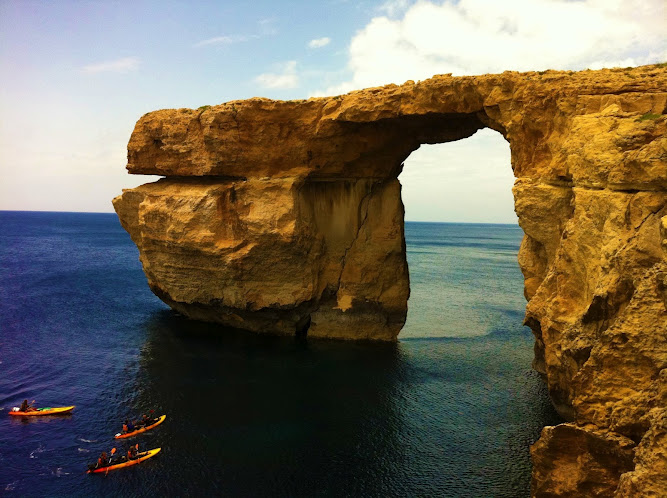 Blue Window, Gozo, Malta