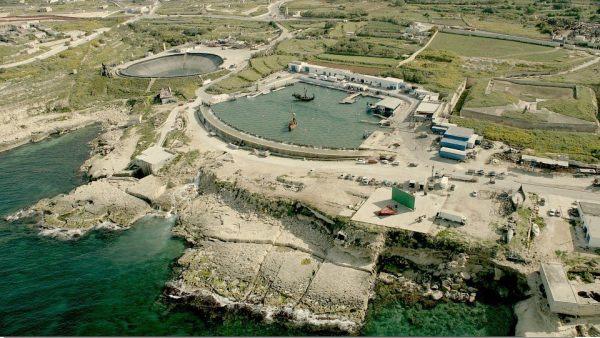 tanque de água Mediterranean Filme Studios Malta filme Asteris e Obelix