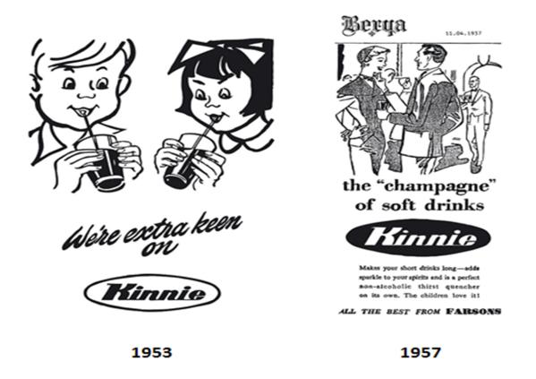 Kinnie Ad 1952 e 1957