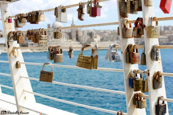 love locks Malta