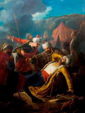 Great Siege of Malta in 1565, Giuseppe Cali, Museu Nacional de Belas Artes em Malta