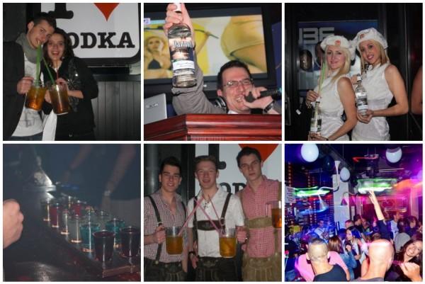 Qube vodka bar em Malta