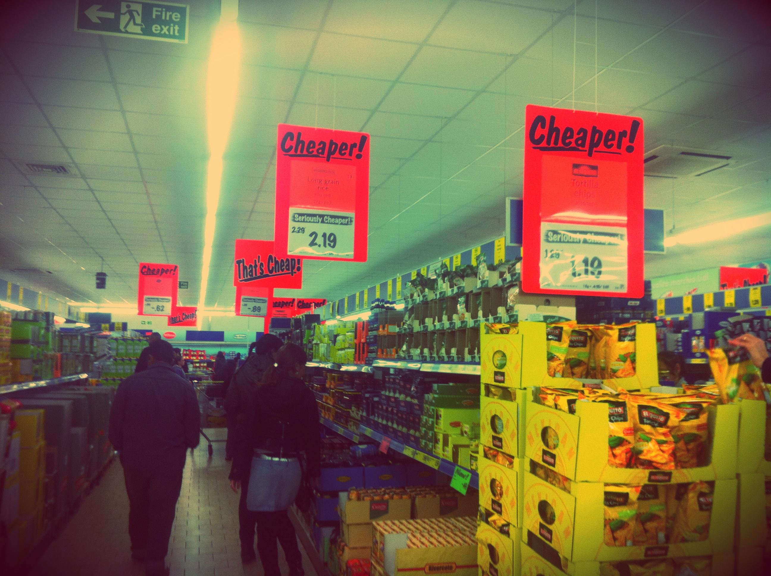 supermercado barato em Malta