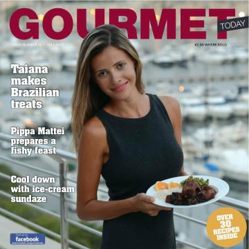 Revista Gourmet Today Malta