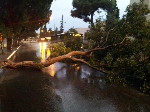 estragos causados pela enchente em malta