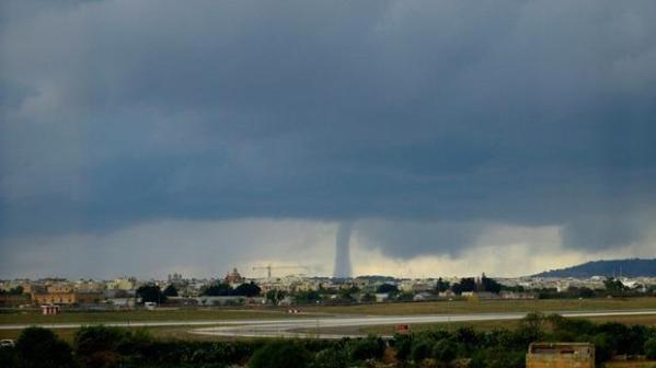 tornado Malta